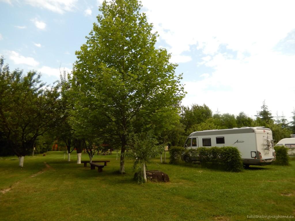 Spațiu de campare - Camping Vasskert