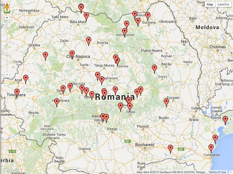 Harta Campsite in Romania