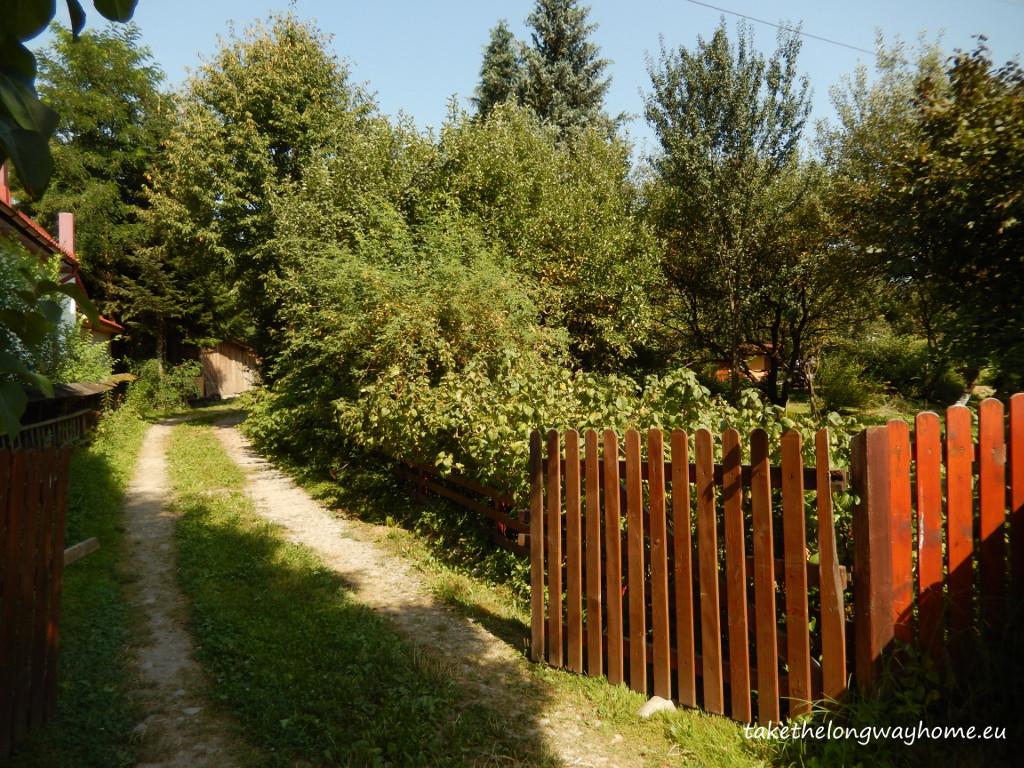 Poarta de acces către locurile de campat