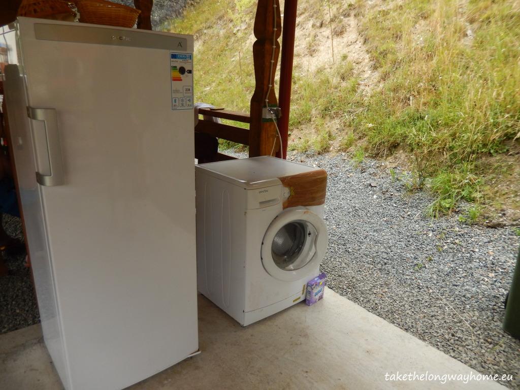 frigider masina de spalat