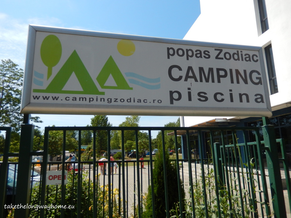 "Camping Popas Zodiac, strada Gala Galaction, nr. 49, Jupiter, județul Constanța // GPS : N 43°51'34,5"" E 28°35'55,8"" / Lat 43.859586 long 28.598819 // site : campingzodiac.ro // email : campingzodiac@gmail.com // telefon : +40743 334 194"
