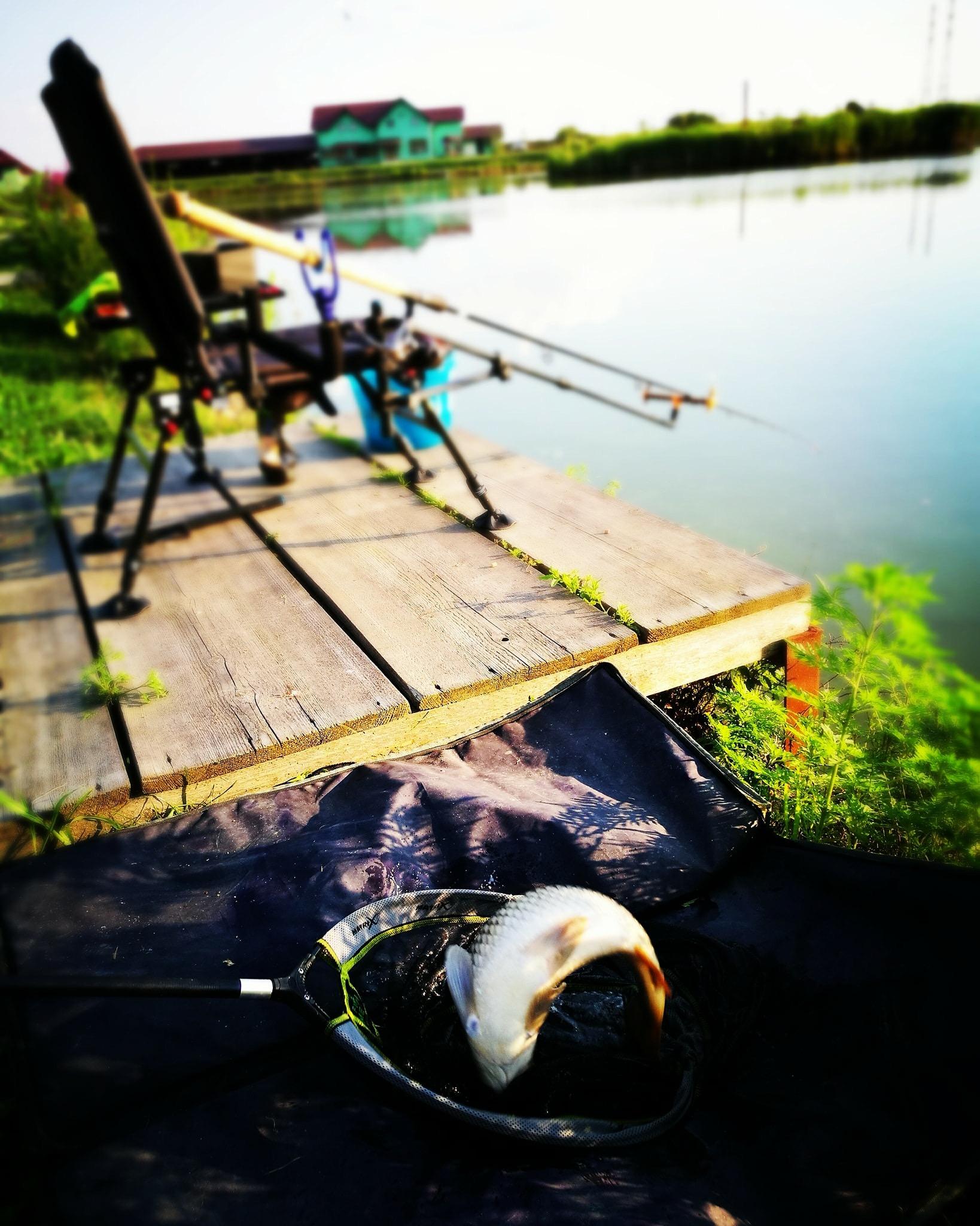 Pescuit si campare la Valcroft