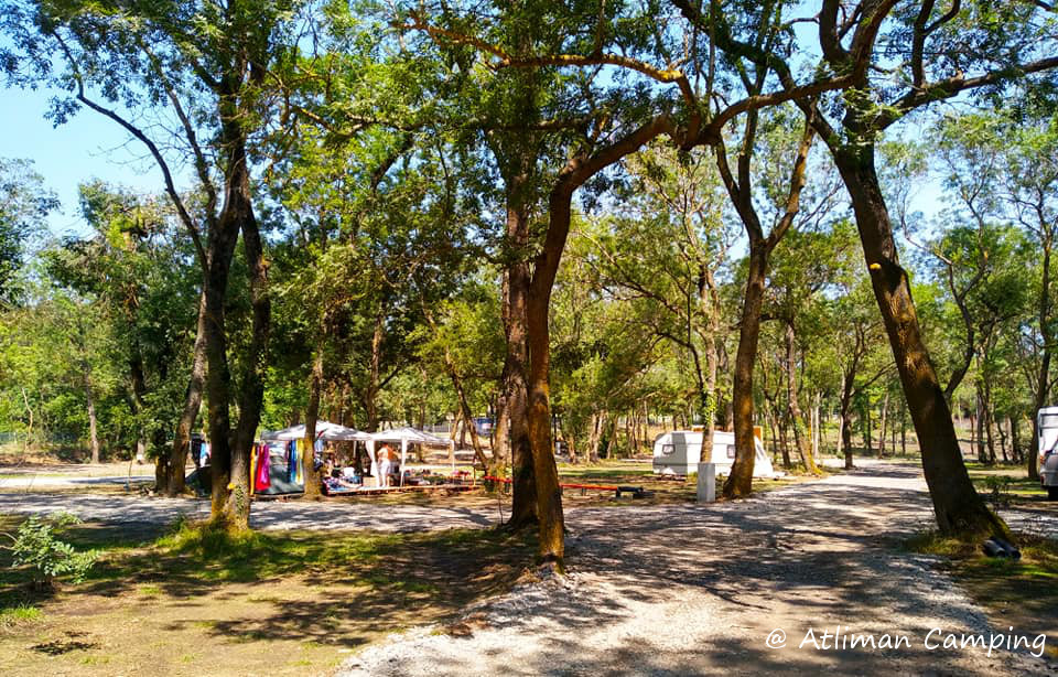 inside the camping