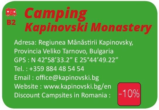 Kapinovski Monastery Camping