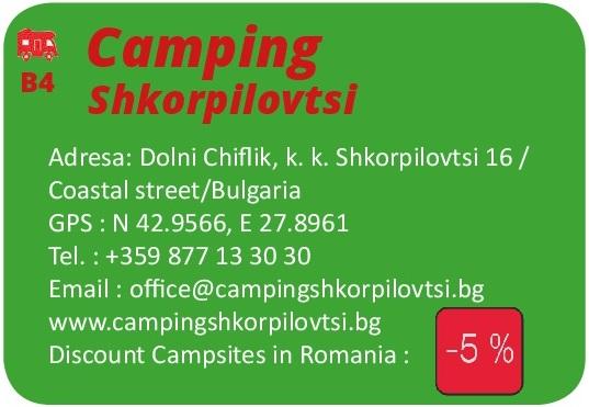 Shkorpilovtsi Camping