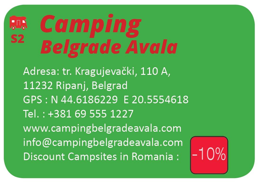 Camping Belgrade Avala
