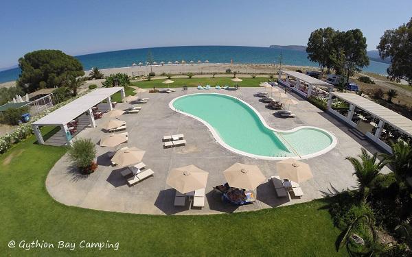 vedere panoramica piscina