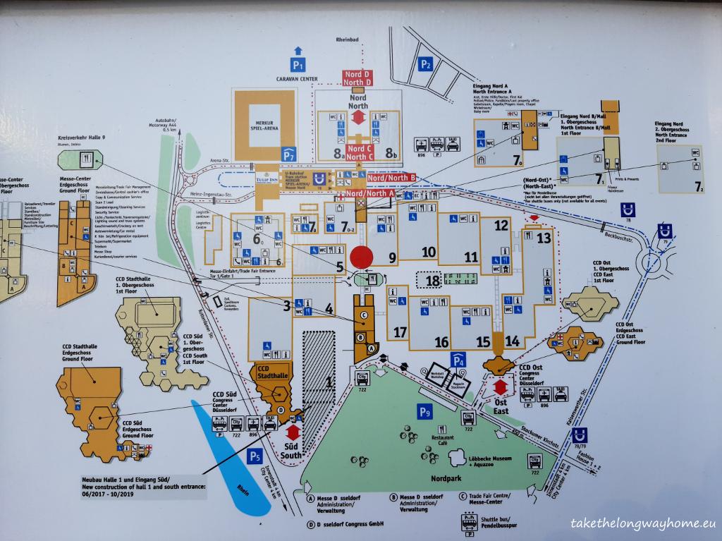harta evenimentului