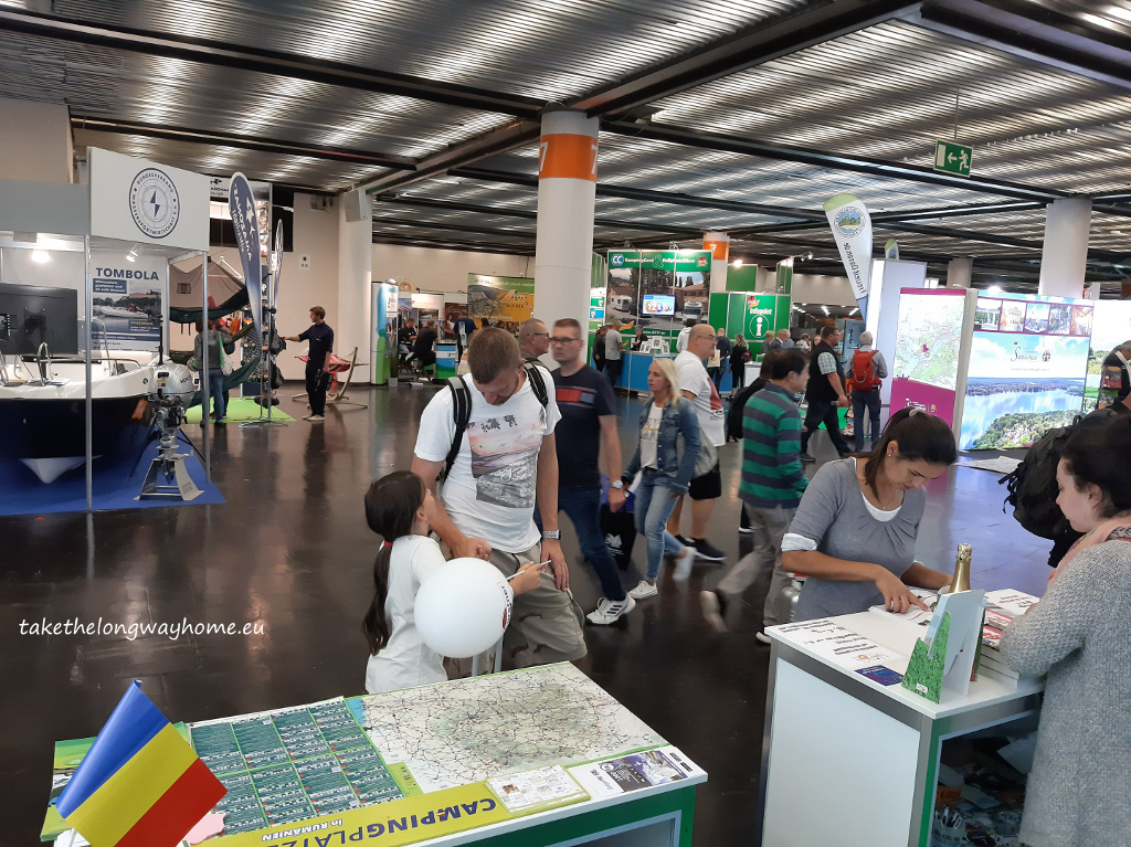 Campsites in Romania la Caravan Salon Düsseldorf 2019