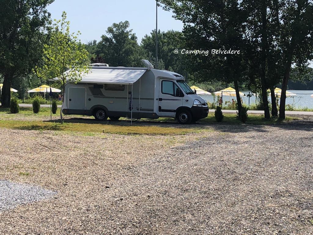 camper in camping Belvedere