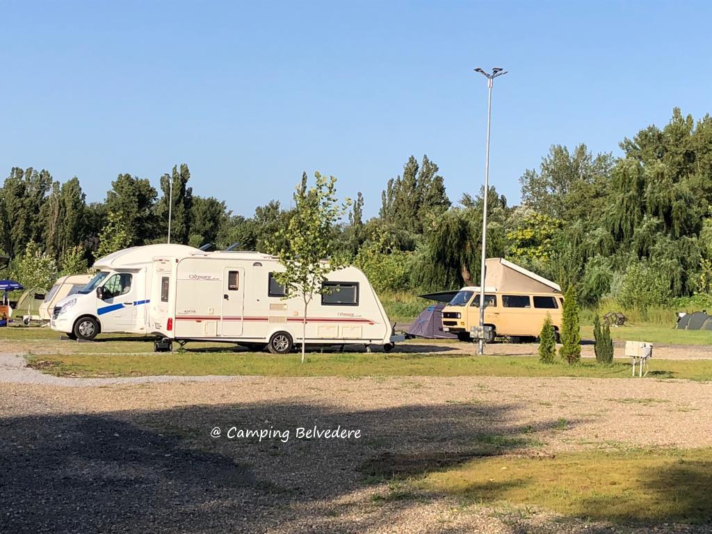 locuri de parcare in camping Belvedere